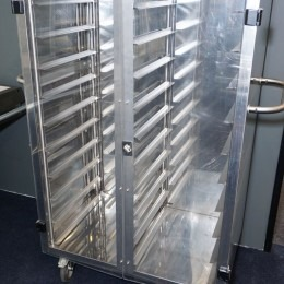 Gastronorm wagen dubbele deur