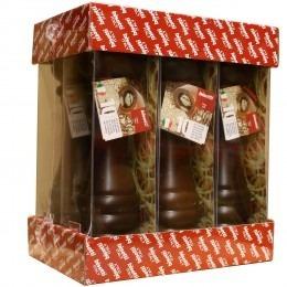 Bologna Pepermolen Walnoot 22.5cm verkrijgbaar in de cash and carry afdeling bij Vanal Antwerpen Brecht.