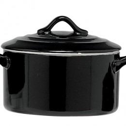 Black Ovenschotel Met Deksel 0