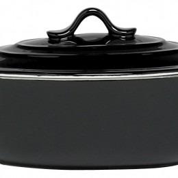 Black Ovenschotel Met Deksel 1