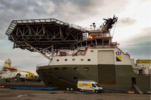 Vanal NV levert en installeert Grootkeukens voor scheepvaart en rederij